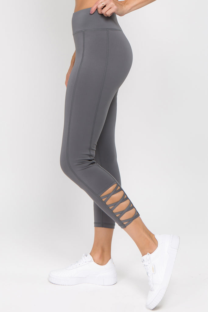high waisted strappy leggings for women 2019 2020 new brands
