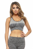 Active Cross Back Ombre Sports Bra