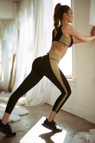 Fade into Camo Active Sports Bra and Leggings Set