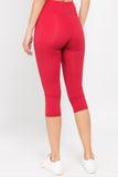 Freestyle Active Single Pocket Capri Legging