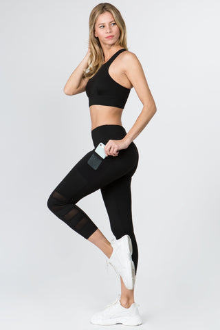 Mesh Perfection Active 3-Pocket Workout Leggings
