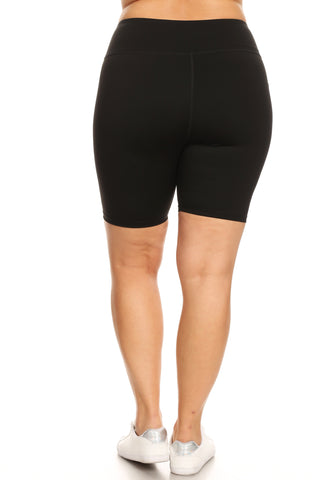 Plus Size Made to Move Active Bike Shorts