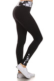 Active Tie Dye Print Yoga Legging