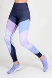 active graphic leggings with pocket for women