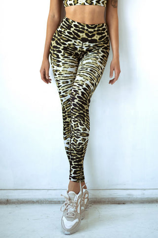 Lucky 4-Leaf Clover Printed Leggings