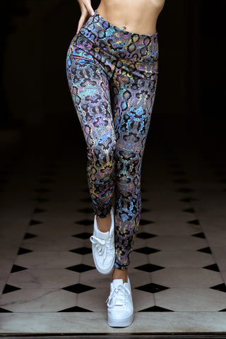 Tropical Paradise Active Printed Leggings