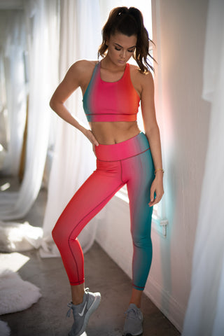 Vital Multi Striped Workout Set