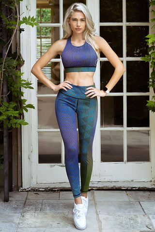 Athena High Rise Moto Workout Legging