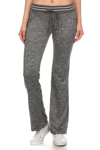 Active Marled Bootcut Yoga Pants