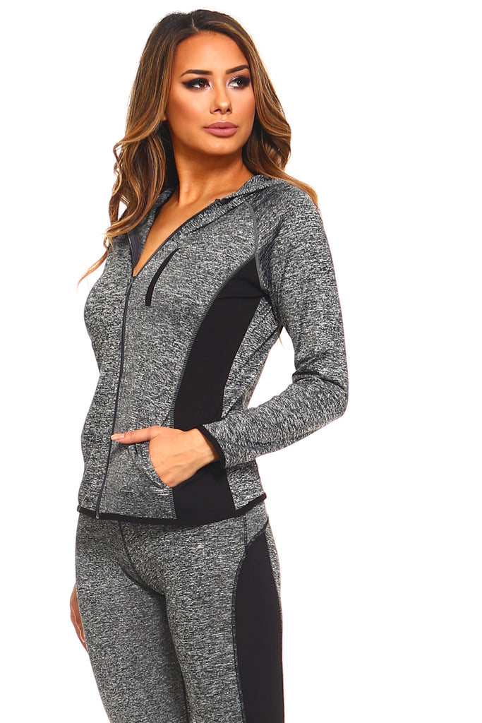 womens workout athletic jacket