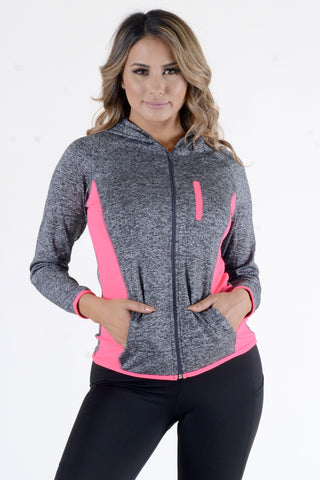 Seamless Active Track Jacket