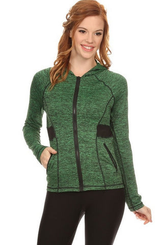Active Wear Zip Up Jacket