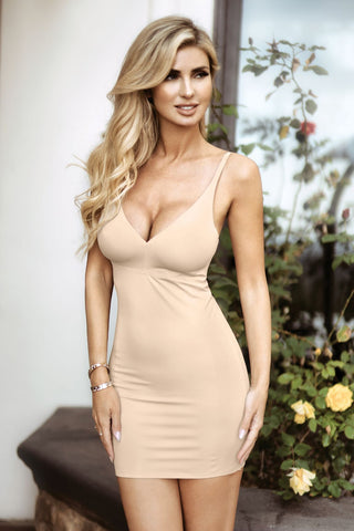 Firm Control Body Shaping Slip Dress