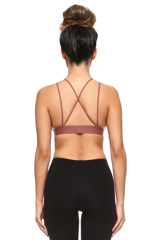 Perfectly Seamless Strappy Cross Back Bralette