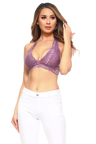 Poised and Pretty Floral Lace Bralette