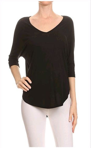 Nothing Better V-Neck Knit Top