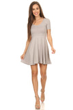 Women's Fit & Flare Style Dress