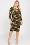 midi bodycon dresses plus size