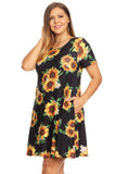 sunflower a line dresses plus size