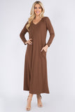Essential Maxi Dress with Pockets