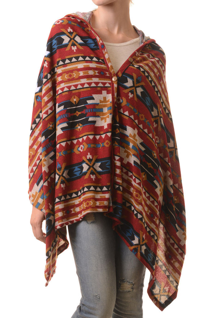 The Wildfire Tribal Poncho