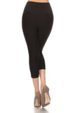 Make It Moto Active Capri Leggings