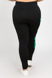 Plus Size Seamless 420 Print Leggings