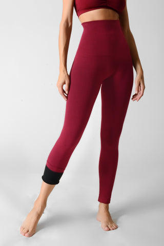 Seamless French Terry Lined Leggings