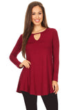 wine red tops with sleeves