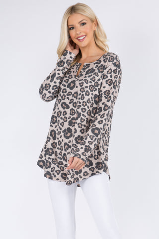 Effortless Style Dolman Oversized Tunic Top