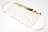 Vintage Floral Design Cotton Mask with Nose Wire Filter Pocket