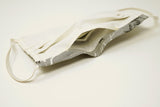Pre-Order - Grey Birds Design Cotton Mask with Nose Wire Filter Pocket