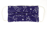 Pre-Order - Shooting Stars Design Cotton Mask with Nose Wire Filter Pocket
