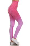 Athletic Space Dye Ombre Leggings