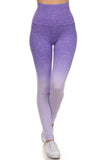 ombre workout tights