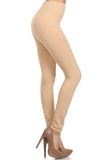 nude seamless layering leggings