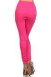 hot pink seamless leggings