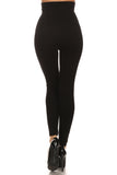 black super high waisted leggings