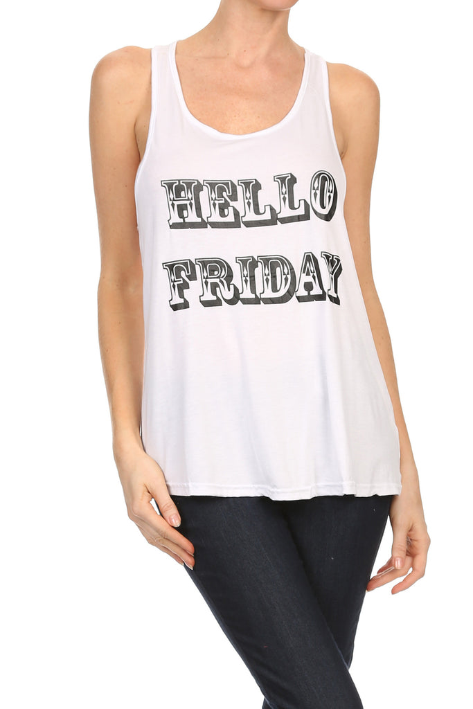 Hello Friday Tank