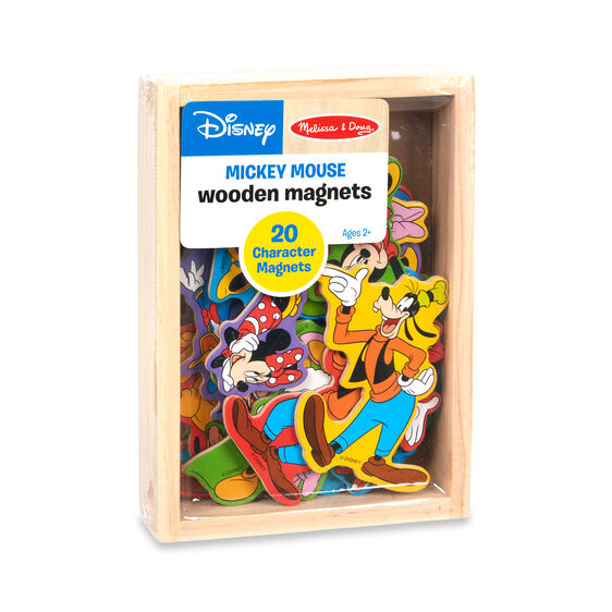 Melissa & Doug Disney Mickey Mouse Wooden Magnets
