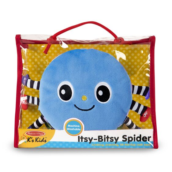 Melissa & Doug Soft Activity Book - Its-Bitsy Spider