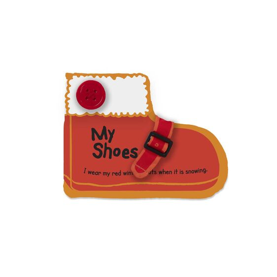 Melissa & Doug K's Kids My Shoes Cloth Book