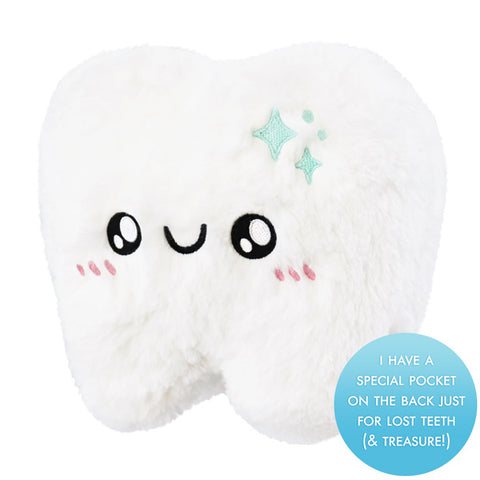 Squishable Mini Tooth with Tooth Fairy Pocket