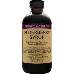 Honey Garden Elderberry Syrup 4oz