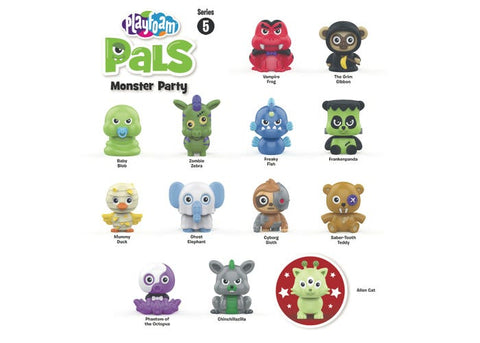 Educational Insights Playfoam Pals Monster Party Glow in the Dark