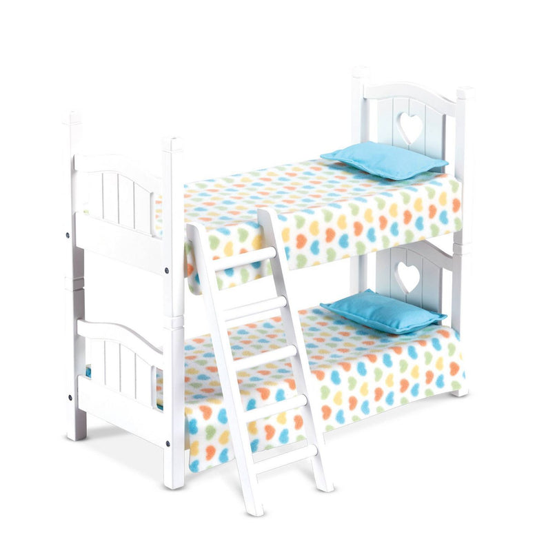 Melissa & Doug Mine To Love Play Bunk Bed