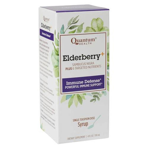 Quantum Health Elderberry+ Syrup, 4 oz.