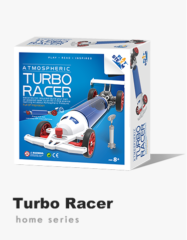 PlaySTEAM Atmospheric Turbo Racer Car