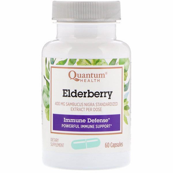 Quantum Health Elderberry Standardized Extract, 60 capsules