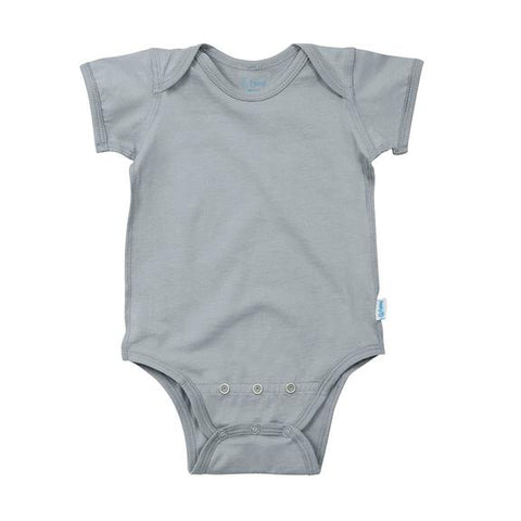 I Play Short Sleeve Adjustable Bodysuit made from Organic Cotton